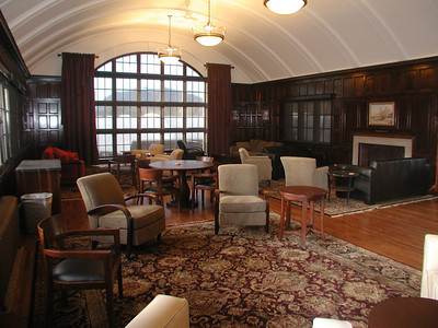 Conversion of Classroom C to Faculty Commons in 2006
