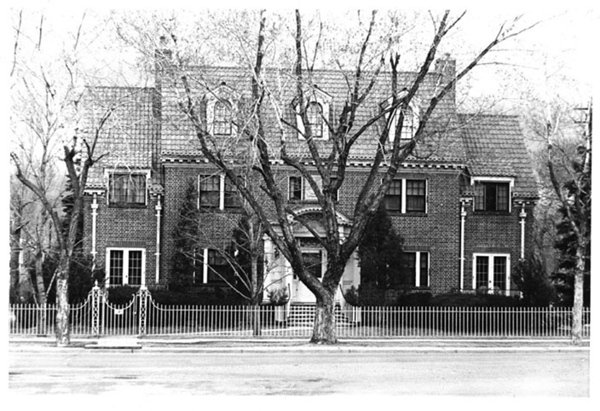 Haskell House in 1959