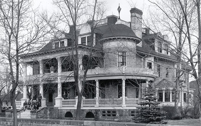 Jackson House Facing Southwest Circa 1940's