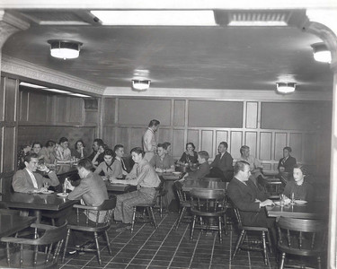 Lennox interior in the late 1930s as the student union