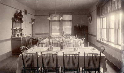 Montgomery Hall dining room