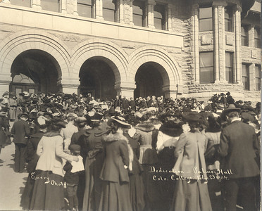 Palmer Hall Dedication February 23, 1904