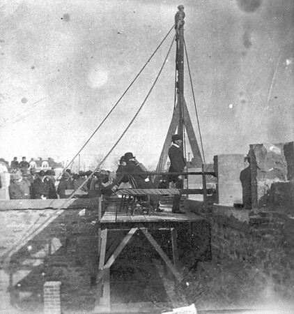 Laying of the Palmer Hall Cornerstone - March 2, 1902