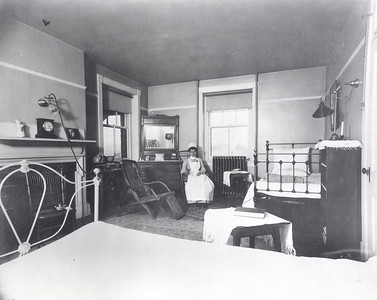 Ticknor Hall Infirmary Room Early 1900s