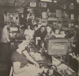 Spencer Center, Murray Drug Co. Soda Fountain Late 1940's